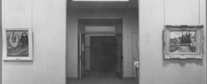 MoMA 1929 Exhibit